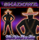 FANCY DRESS SHADOWSUITS/SKINZ/ZENTAI SUITS - MEXICAN MEDIUM